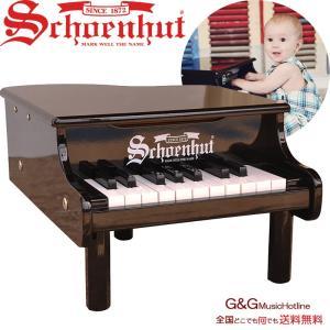 シェーンハット 18鍵盤 ミニグランドピアノ ブラック 18-Key Black 189B Schoenhutの画像