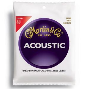 【送料無料】MARTIN/マーチン マーチン弦ライト M140×1セット/M-140|gandgmusichotline