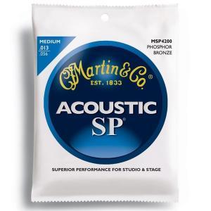 MARTIN(マーチン弦) 「MSP4200×1セット」ミディアム・ゲージ  SP 92/8 Phosphor Bronze Medium Acoustic Guitar/MSP-4200|gandgmusichotline