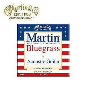 MARTIN(マーチン弦) 「M240×1セット」ライトミディアム・ゲージ  Bluegrass 80/20 Bronze Light/Medium Acoustic Guitar/M-240 gandgmusichotline