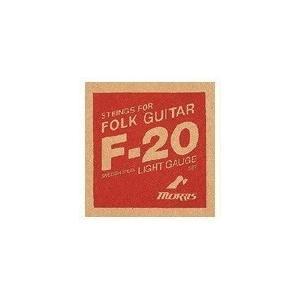 Morris アコースティックギター弦/F-20L Light(ライト)×6セット/モーリスアコギ弦|gandgmusichotline