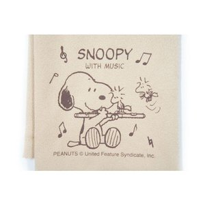 クロス 管楽器 フルート スヌーピー SCLOTH-FL SNOOPY|gandgmusichotline