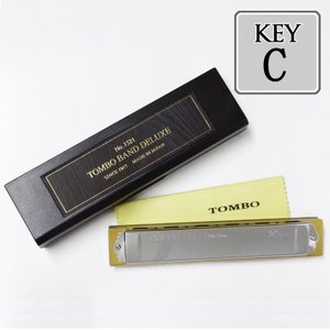 TOMBO「Tombo Band Deluxe 1521 Key=C(シー)」特製・トンボバンド/複音ハーモニカ|gandgmusichotline