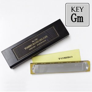 TOMBO「Tombo Band Deluxe 1521 Key=Gm(ジーマイナー)」特製・トンボバンド/複音ハーモニカ gandgmusichotline