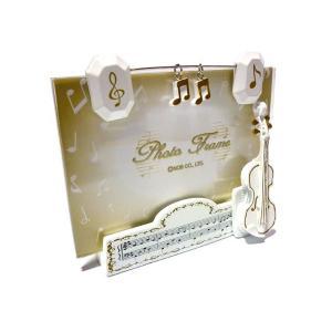 NOB COMPANY(ノブカンパニー)「ミュージックチャームフレームバイオリン」|gandgmusichotline