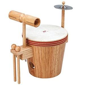 KP キッズパーカッション KP-790/YD KP790YD よくばりドラムセット 太鼓・ウッドブロック・シンバルの楽しいドラムセット|gandgmusichotline