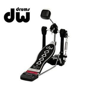 DW「DW-6000AX」バスドラム用シングル・ペダル/アクセレレータードライブ/ドラム関連アクセサリー/ディーダブリュウー|gandgmusichotline