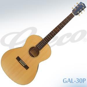 【送料無料】Greco(グレコ) GAL-30P Natural(NAT) / ピックアップ搭載630mmスケールのミニギター|gandgmusichotline