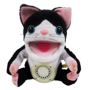 【ネコ・パペット型テルミン】トゥロッシュ コケロミン/ネコ しろくろ(PM103NBW)/troche/電子楽器|gandgmusichotline