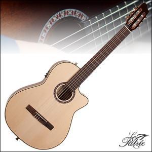 LaPatrie Arena Mahogany CW QIT / ラパトリエ シンライン ナイロン ストリング ギター アリーナシリーズ エレガット クラシックギター|gandgmusichotline