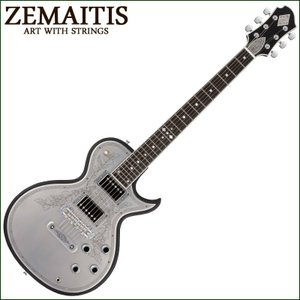 ZEMAITIS CS24MF CUSTOM BK / ゼマイティス・カスタムショップモデル アフリカン・マホガニー&メタル・フロント・モデル gandgmusichotline