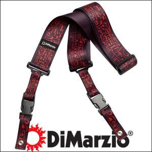 DiMarzio ディマジオ ギター・ストラップ GUITAR STRAP DD2243 Steve Vai ClipLock - Art Strap Black(ブラック:BK)|gandgmusichotline