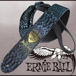 ErnieBall Joe Bonamassa Signature Strap Blue Mystic [#4070] / アーニーボール ジョーボナマッサ シグネチャーストラップ|gandgmusichotline