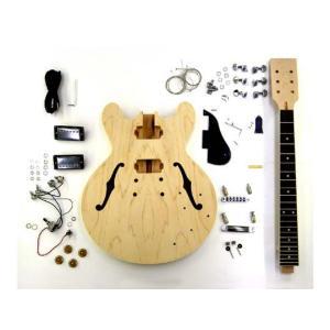 HOSCO エレキギターキット セミアコタイプ ER-KIT-ES ※ラッピング承ります※|gandgmusichotline