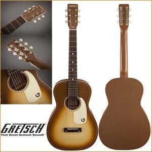 GRETSCH/グレッチ G9520 LTD Jim Dandy Flat Top Bronze Burst / 限定モデルのパーラーギター G9520LTD|gandgmusichotline