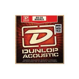 ダンロップ・アコースティックギター弦:MediumLight(11-52)×6セット JimDunlop 80/20 BRONZE DAB1152|gandgmusichotline