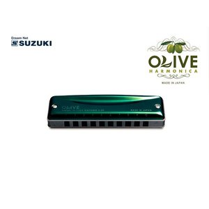 SUZUKI(鈴木楽器)10穴ハーモニカ OLIVE C-20 Key:C調|gandgmusichotline