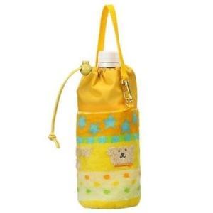 保冷ペットボトルホルダ レインボーベア ハッピー ペットボトルケース 今治タオルの日本製|ganso