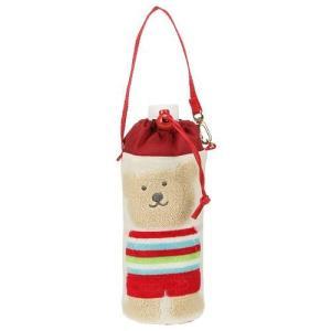 保冷ペットボトルホルダ レインボーベア スタイル ペットボトルケース 今治タオルの日本製|ganso