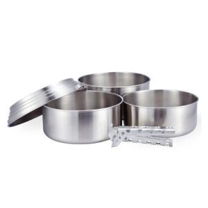 ソロストーブ(solo stove) ソロストーブ 3ポットセット|gaobabushop