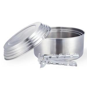 ソロストーブ(solo stove) ソロストーブ 3ポットセット|gaobabushop|02