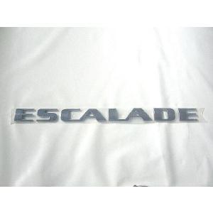 General Motors(ジェネラルモーターズ) エンブレム,ESCALADE,リア ゲート/ドア 15162148|garage-daiban