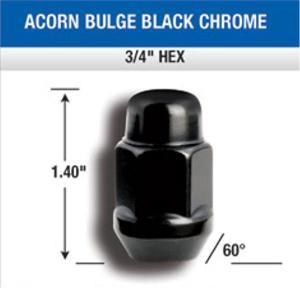 Gorilla Automotive Products(ゴリラオートモーティブ) ホイールナット 1/2 クローズ 41188BC|garage-daiban