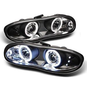 SPYDER AUTO(スパイダー) プロジェクター ヘッドライト CCFL LED PRO-YD-CCAM98-CCFL-BK|garage-daiban