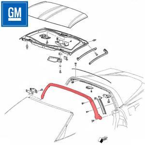GM ウェザー ストリップ, ルーフ 15881010|garage-daiban