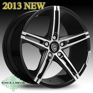 LEXANI(レクサーニ) ホイール R-THREE 20x8.5/20x10 タイヤ付 4本セット|garage-daiban
