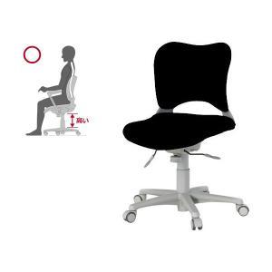 オフィス チェア 腰痛対策 事務椅子 ウレタン巻キャスターパソコンチェア 黒 ガラージ チェアOC Garage家具 OC-Z06SLU|garage-murabi
