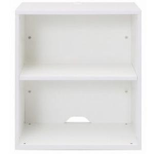 Garage 木製収納庫 w600 下置き用 KK H700 ホワイト|garage-murabi