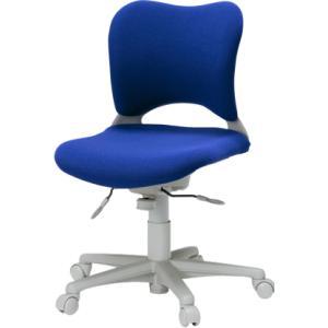 Garageオフィスチェア・パソコンチェア腰痛 防止 事務椅子 カーペット床仕様 青 送料無料|garage-murabi