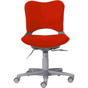 Garageオフィスチェア・パソコンチェア腰痛 防止 事務椅子 カーペット床仕様 赤 送料無料|garage-murabi