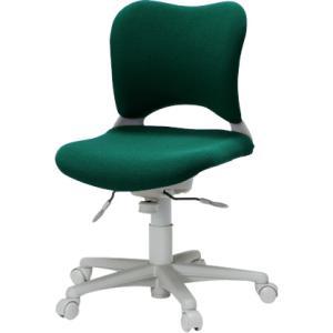 Garageオフィスチェア・パソコンチェア腰痛 防止 事務椅子 カーペット床仕様 緑 送料無料|garage-murabi