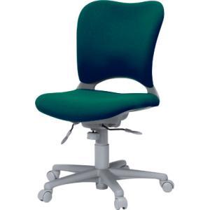 腰痛対策事務椅子 イスGarage(ガラージ) ハイバック事務イス カーペット床仕様 緑 Garage chair oc 送料無料|garage-murabi