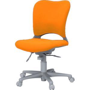 腰痛対策事務椅子 イスGarage(ガラージ) ハイバック事務イス カーペット床仕様 橙 Garage chair oc 送料無料|garage-murabi