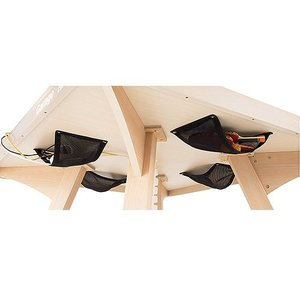 配線ネット PW-WNET 黒 4枚組 ピンポンワークテーブル用|garage-murabi