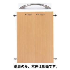 木製収納庫  W800 H1100 Garage  扉 KK 木目|garage-murabi