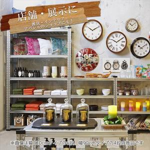 スチール棚 メタルシステム  W1200 METALSISTEM 物品棚 棚板 イタリア製 001968 garage-murabi 03
