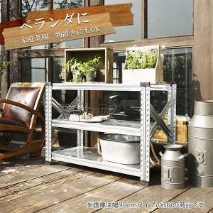 スチール棚 メタルシステム  W1200 METALSISTEM 物品棚 棚板 イタリア製 001968 garage-murabi 04