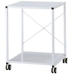 ワゴン/ラック/机上棚/CPU用>Garage CPUラック CPUワゴン ●カラー:白●サイズ:W...