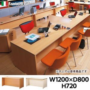 Garage ローカウンター【木目】W1200×D800mm 受付カウンター オフィス家具 高級 ガラージ fantoni GF GF-128CL 415213|garage-murabi