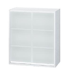 プラス リンクス 上置き用 引違いガラス保管庫 L5−105G W4 W900・D450・H1050 安心設置までサービス|garage-murabi