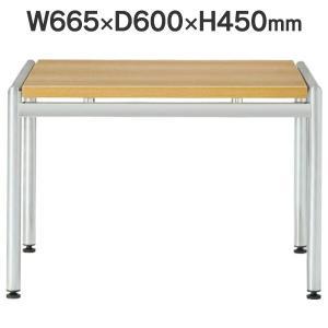 応接セット用 コーナーテーブル W665×D600×H450mm CT-620 OAK オーク 送料無料|garage-murabi