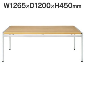 応接セット用 センターテーブル W1265×D1200×H450mm CT-650 OAK オーク 送料無料 garage-murabi