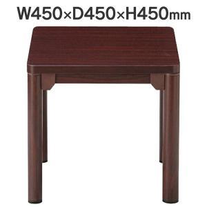 角丸 φ50mm脚 コーナーテーブル W450×D450×H450mm CTR-4545 送料無料|garage-murabi