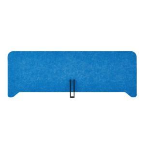 PLUS(プラス) デスクトップパネル フェルトデスクトップパネル W860×H310mm ブルー DI-P0831 BL|garage-murabi