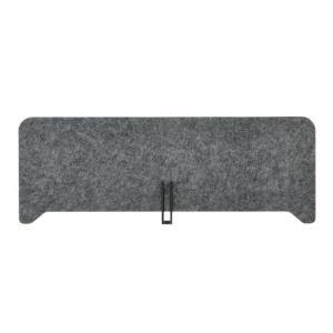 PLUS(プラス) デスクトップパネル フェルトデスクトップパネル W860×H310mm グレー DI-P0831 GY|garage-murabi