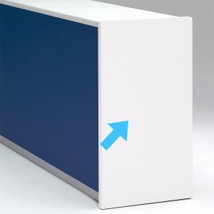受付カウンター ハイカウンターサイドパネル PLUS DK-HSP  左右共用 ホワイト  設置まで|garage-murabi